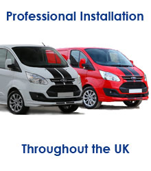 professional fitting service for all our caravan movers