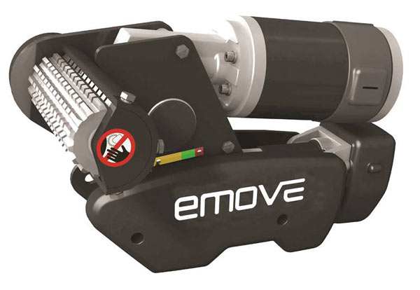 Emove EM303 compact manoeuvring system for caravans up to 1800kg