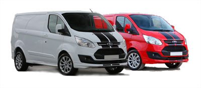 caravan mover fitters - fully equipped fleet of vans