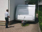 the motor mover offers simple, precise manoeuvring