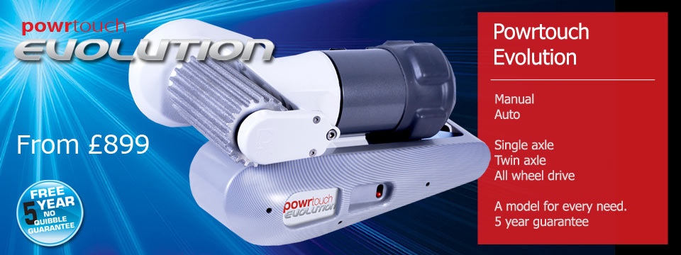 Powertouch Evolution caravan mover